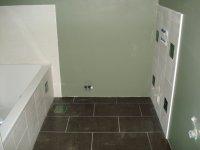 Badkamer in nieuwbouw te Zoersel